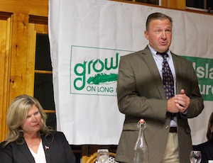 Town Board candidates Jodi Giglio and Frank Beyrodt.