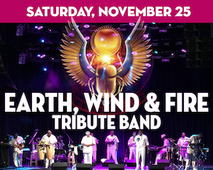 Earth, Wind & Fire Tribute Band at The Suffolk Theater