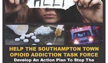 Southampton, Opioid, forum, task force