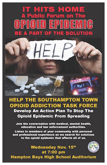 Southampton, Opioid, forum, task force