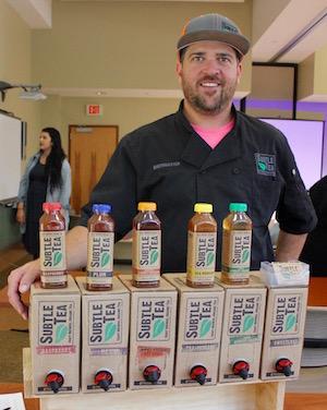 Kyle Chandler, founder of Subtle Tea.