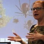 Dr. Anna-Marie Wellins of Stony Brook Southampton Hospital's Tick-Borne Disease Resource Center
