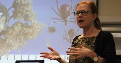 Dr. Anna-Marie Wellins of Stony Brook Southampton Hospital's Tick-Borne Disease Resource Center