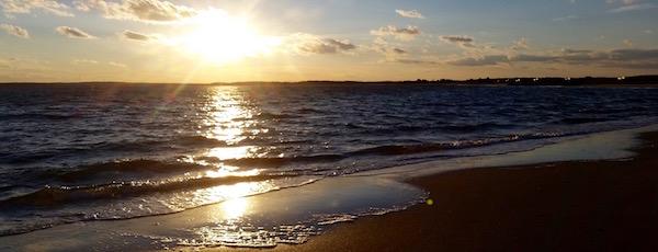 Chasing the sun, Cedar Point