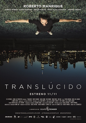 "The film poster for ""Translucido."""