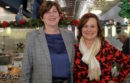 Laura Jens-Smith and Catherine Kent at the Blue Duck Bakery on Main Street in Riverhead.