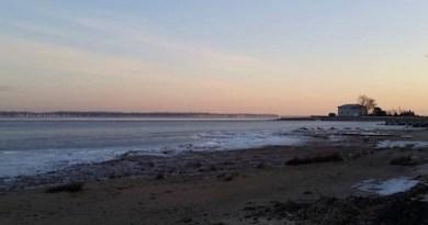 Flanders Bay, sunrise