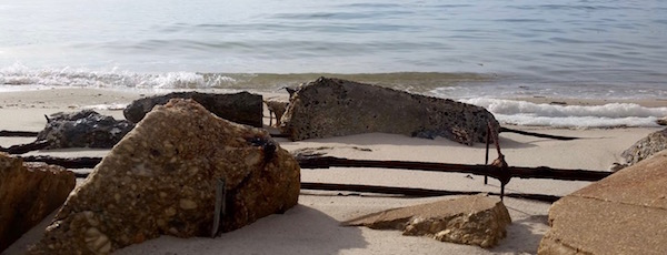 Rebar beach, New Suffolk