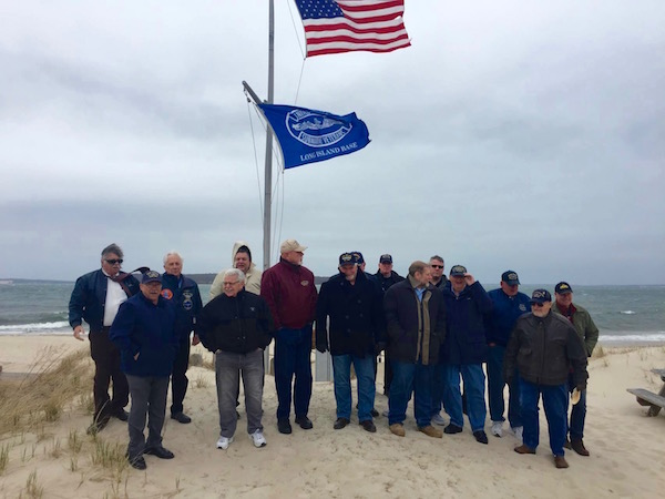 "In weather that was reminiscent of standing on the deck of a submarine, the Submarine Veterans of Long Island held vigil at the beach in New Suffolk for their annual ""Tolling of the Boats"" ceremony this past April 15th at 11 am. The ceremony commemorates all of the US Submarines lost at sea, as well as submariners who have lost their lives while serving our country. 