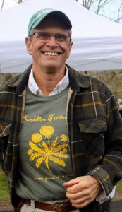 KK's Farm owner Ira Haspel at the festival.
