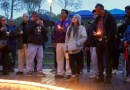 Attendees at Southampton Town's vigil for lives lost to opioids at Good Ground Park May 12.