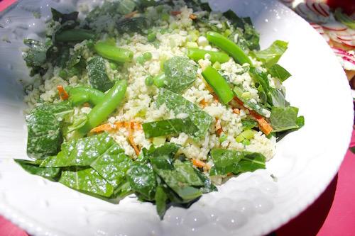 Basmati Rice & Vegetable Salad