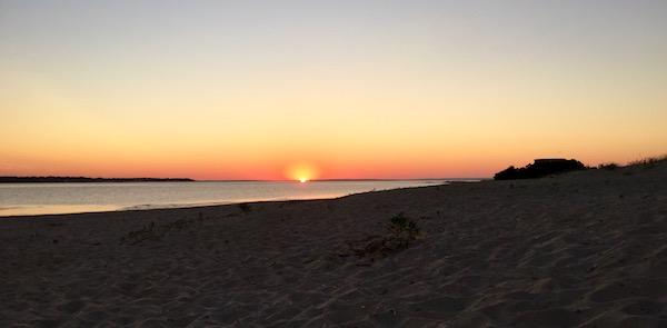 Heat Wave Sunrise, Flanders