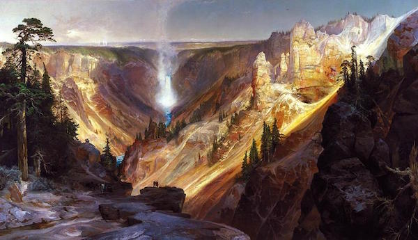 "Thomas Moran's ""The Grand Canyon of Yellowstone"""