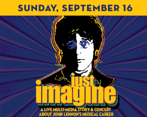 Just Imagine: A Multi-Media Concert About John Lennon at The Suffolk Theater