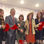At Monday's ribbon cutting at the new Peconic Crossing artist housing in downtown Riverhead