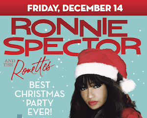 Ronnie Spector & The Ronnettes Best Christmas Party Ever at The Suffolk Theater