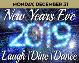 New Years Eve Laugh, Dine & Dance at The Suffolk Theater