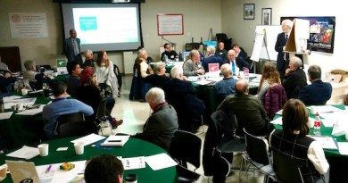 "Attendees at the ""Envision Plum Island"" workshop Nov. 16."