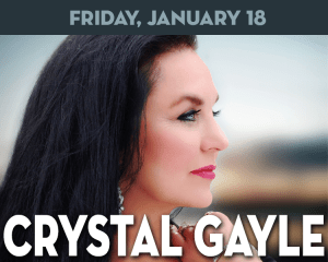 Crystal Gayle performs at The Suffolk Theater