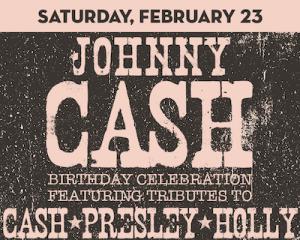 Johnny Cash Birthday Celebration at The Suffolk Theater