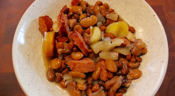 Scratchy Pork & Beans
