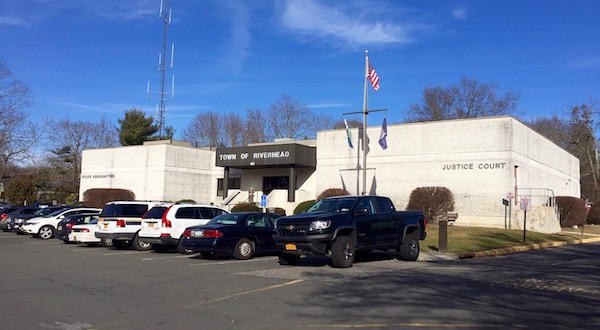 Riverhead's split Justice Court and Police Department headquarters.