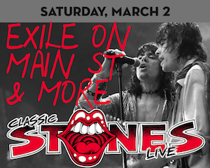 """Classic Stones Live performs """"Exile on Main Street"""" at The Suffolk Theater"""