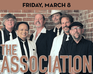 The Association performs at The Suffolk Theater