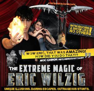 Extreme Magic of Eric Wilzig at Westhampton Beach PAC