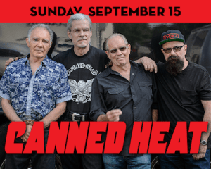 Canned Heat performs at The Suffolk Theater