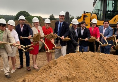 At Tuesday's groundbreaking. | photo courtesy New York State Governor's Office