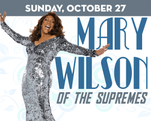Mary Wilson of The Supremes at The Suffolk Theater