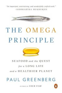 "Carl Safina and Paul Greenberg discuss ""Omega Principle: Seafood and the Quest for Long Life and a Healthier Planet"" at Canio's Books"