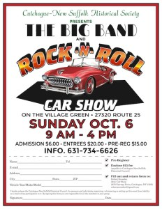 Big Band & Rock 'N Roll Car Show at the Cutchogue Village Green