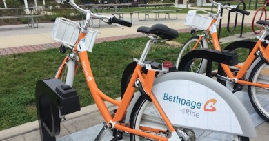 Bethpage Ride bicycles at Good Ground Park in Hampton Bays