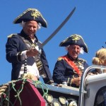 Greenport Harbor Brewery Founders Rich Vandenburgh & John Liegey were the Grand Marshals of the East End Maritime Festival parade on Saturday.