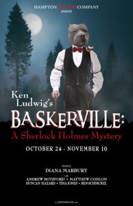 "Ken Ludwig's ""Baskerville: A Sherlock Holmes Mystery"" at Hampton Theatre Company"