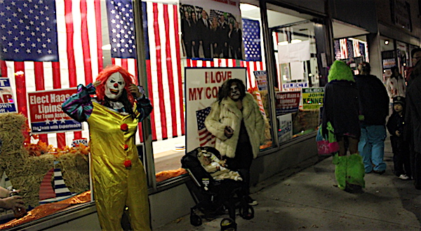 Saturday night at Riverhead's Halloween Parade