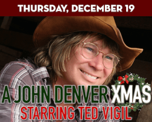 A John Denver Christmas Starring Ted Vigil at Suffolk Theater
