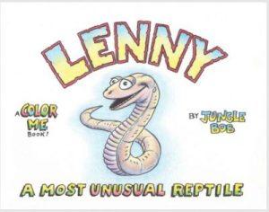 "Jungle Bob signs copies of ""Lenny: A Most Unusual Reptile"" at Quogue Wildlife Refuge"
