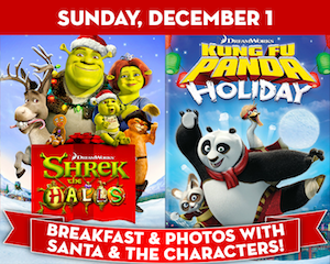 Shrek the Halls with Kung Fu Panda at The Suffolk Theater