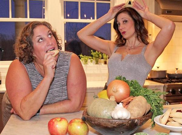 "Amy Kirwin and Rebecca Edana daydream about the possibilities of their new project, ""Two Jews Making Food"""