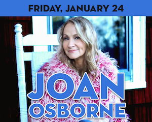 Joan Osborne performs at The Suffolk Theater