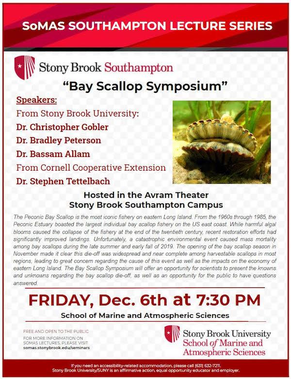 Bay Scallop Symposium