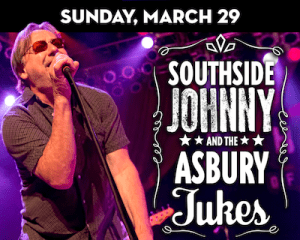Southside Johnny & The Asbury Jukes perform at The Suffolk Theater, 118 East Main Street, Riverhead. 8 p.m. Known for his legendary collaborations with Steven Van Zandt, Bruce Springsteen, and more - Southside Johnny was inducted into the NJ Hall of Fame in 2018 by John Bon Jovi himself. [$65] 631.727.4343 | suffolktheater.com