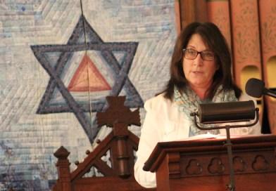 North Fork Reform Synagogue's community liaison, Rabbi Barbara Sheryll