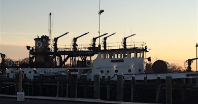 Fireboat, Greenport.