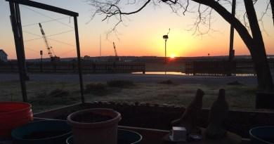 New Suffolk sunrise, Saturday