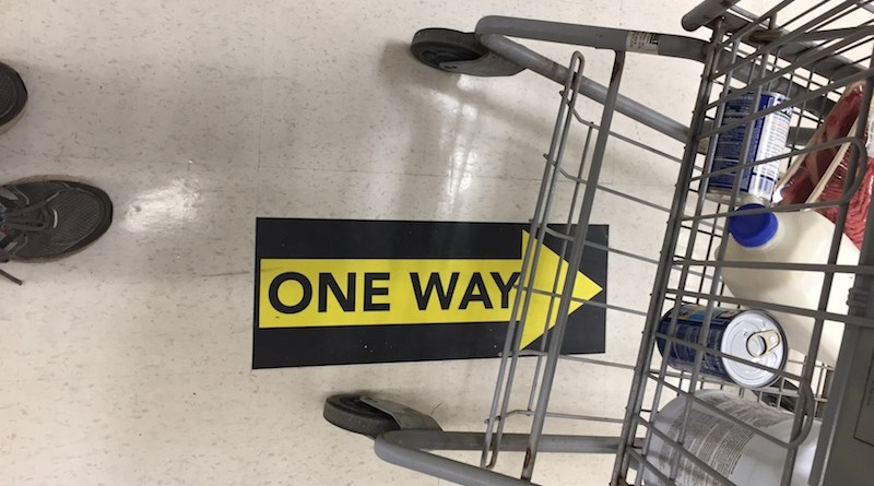 One Way Shopping Cart